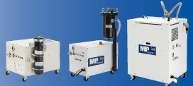 MP Series High-Pressure Coolant Pumps use oil or water based coolants.