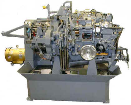 "Davenport screw machine completely remanufactured by ISMS, ""The Davenport Specialists""."